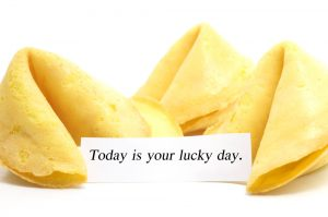 Today IS Your Luck Day