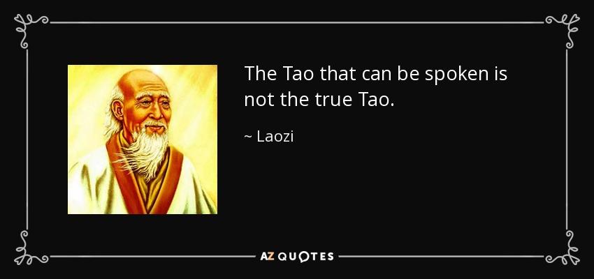 Tao Te Ching – 1